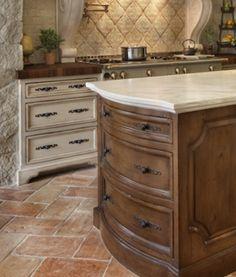 Natural Stone - Kitchen Flooring: 8 Popular Choices - Bob Vila