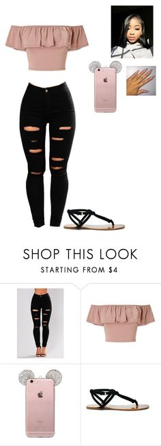 """""""Untitled #180"""" by baby-crooksanford ❤ liked on Polyvore featuring Miss Selfridge and Sole Society"""