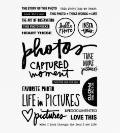 Photos Stamp Set available at aliedwards.com
