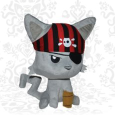 First Edition Pirate Kitty