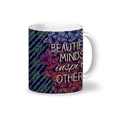 Caneca Beautiful Minds de @jurumple | Colab55