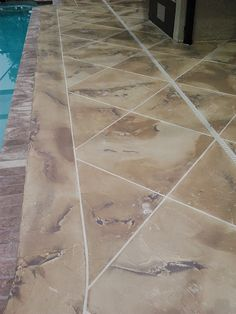 Painting Port Saint Lucie Beautiful: Faux Finished Concrete