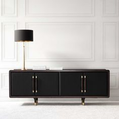 BLACK SIDEBOARD |  modern furniture for a luxury home decor |http://www.bocadolobo.com/en/index.php #modernsideboard #sideboardideas
