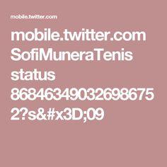 mobile.twitter.com SofiMuneraTenis status 868463490326986752?s=09