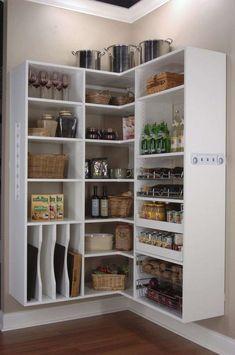 Idee per organizzare la dispensa della cucina (Foto 35/40)   PourFemme