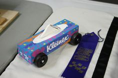 this is what i am going to do for the awana grand prix Cub Scouts Bear, Boy Scouts, Awana Grand Prix Car Ideas, Girls Tea Party, Pinewood Derby Cars, Brownie Girl Scouts, Craft Projects For Kids, Fun Crafts, Kleenex Box
