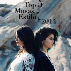 Top 5 Musas de Estilo de 2014 #KylieJenner #KendallJenner #muses
