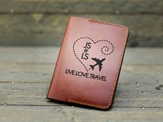 Wedding Gifts For Couples, Personalized Wedding Gifts, Marriage Anniversary, Leather Carving, Handmade Leather Wallet, Passport Cover, Leather Accessories, Couple Gifts, Leather Wallets
