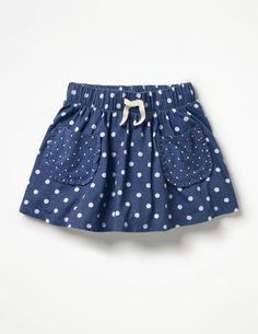 Spotty Jersey Skort Skorts at Boden Little Dresses, Little Girl Dresses, Baby Dresses, Dress Girl, Baby Outfits, Kids Outfits, Baby Skirt, Toddler Skirt, Skirts For Kids