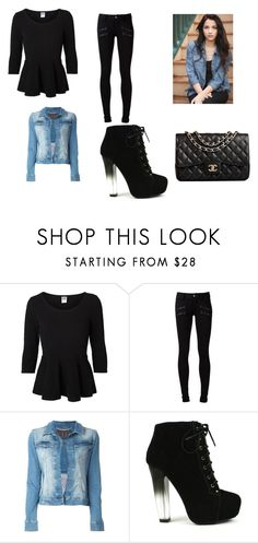 """Shopping, great..."" by harrypotalways ❤ liked on Polyvore featuring Vero Moda, Paige Denim, Philipp Plein, Fahrenheit and Chanel"