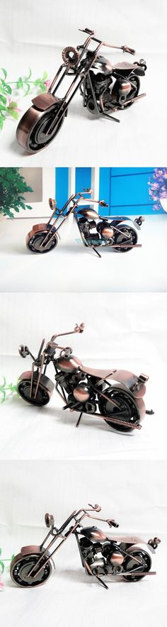 TOP COOL ART - Vintage METAL Pure hand Retro iron Classic motorcycle model --HOME office BAR RETRO TOP Decor art # M1-1 $19.99
