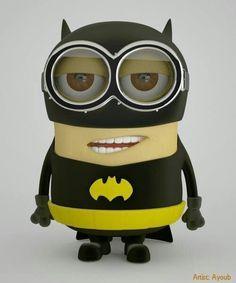 Minion: Batman, The Justice League of America Batman Minion, I Am Batman, My Minion, Batman Vs Superman, Spiderman, Minion Stuff, Minion Avengers, Batman Stuff, Batman Art