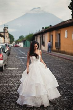 Antigua, Guatemala bride - day after shoot