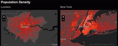 With Urban Observatory, you can compare 16 global cities using maps as a common language.