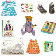 Some are strictly clothes, some specialize in nursery items as well as others a variety of child products including convertible car seat which is an expensive but needed thing.