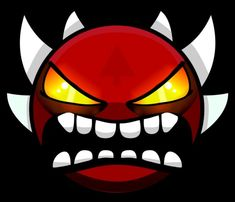 Extreme Demon Geometry Dash Geometry Dash Wallpaper, Dash Image, Game Room Design, Iphone Wallpaper, Scary, Character Design, Shapes, Drawings, Gd