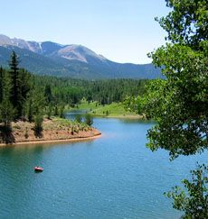 Colorado Lakes and Reservoirs: With over 2,000 lakes and reservoirs to choose from in Colorado it can be hard to pick. We have provided a short list of just a couple below. Each has some basic information, but if you need more detail join the Colorado Fly Fishing Forum or come by and visit us in the shop. We have an extensive library of books and maps to help along with our knowledgeable staff.