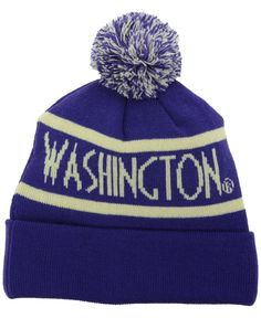 412055ee5f8d54 Top of the World Washington Huskies Slugfest Pom Knit Hat & Reviews -  Sports Fan Shop By Lids - Men - Macy's