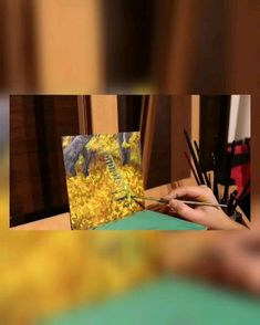 Progress video of my first fall painting Autumn Painting, Painting Videos, Fall, Fall Chalkboard, Autumn, Fall Season, Fall Paintings