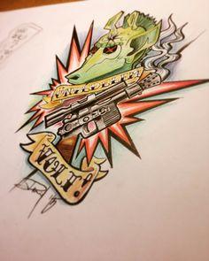 #statwars #hanshootfirst #tattoo #tattooplan