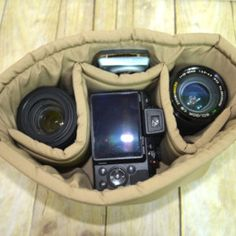 """Review on our camera insert """"Perfect Fit... Just what I needed!"""""""