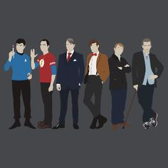 The Doctors  by Tom Trager - also on redbubble.com - I would very much like to have this one as well.  I wish it had 10 instead of 11 on it though... no offense 11.