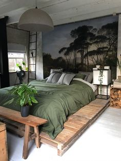 Home Interior Design Bohemian style bedroom in Kollam Netherlands. Small Bedroom Ideas Bedroom Bohemian Design Home Interior Kollam Netherlands Style Bohemian Style Bedrooms, Boho Room, Loft Style Bedroom, Bedroom Styles, Luxurious Bedrooms, Luxury Bedrooms, Luxury Bedding, Home Decor Outlet, Home Bedroom