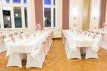 Hochzeit Tischdeko komplett in rosa / weiß