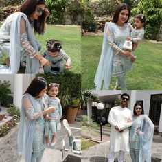 Mom Daughter Matching Outfits, Mommy Daughter Dresses, Matching Family Outfits, Mother Daughter Pictures, Mother Daughter Fashion, Mommys Girl, Pakistani Wedding Outfits, Stylish Girl, Well Dressed