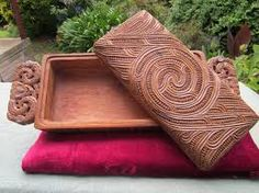Natural - Example - Koru Korua Tae - Authentically handcrafted Maori items made out of NZ native hard wood