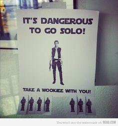 Take a Wookie with ya!