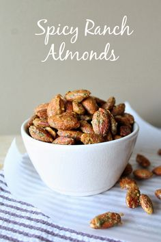 Louisiana Bride: Spicy Ranch Almonds