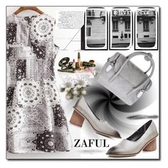 """""""www.zaful.com/?lkid=8105  no. 23 / II"""" by esma178 ❤ liked on Polyvore featuring Soicher Marin, polyvoreeditorial and zaful"""