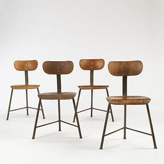 Bauhaus chairs. So much a part of my fantasy caff. #design