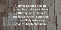 Art from Suffering: Should Authors Try to Heal?