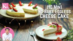 10 Min Cheesecake without Cheese in a Microwave | No-Bake Eggless Cheesecake | Kunal Kapur Recipes - YouTube Eggless Cheesecake Recipe, No Bake Cheesecake, Cheesecake Recipes, Dessert Recipes, Condensed Milk Desserts, Gluten Free Baking, Cheesecakes, Kunal Kapoor, Sweet Tooth