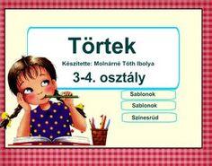 Matematika, törtek 3-4. osztály Teaching Kids, Family Guy, Google, Education, Comics, Children, Creative, Fictional Characters, Album