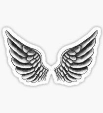 Justin Bieber Wings Tattoo Pegatina