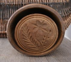 Wood Butter Mold Butter Printer by PastClassics on Etsy https://www.etsy.com/listing/180755710/wood-butter-mold-butter-printer