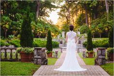 Ruthie's Norfolk Botanical Gardens Bridal Session
