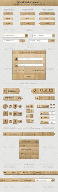 Wood Web Elements
