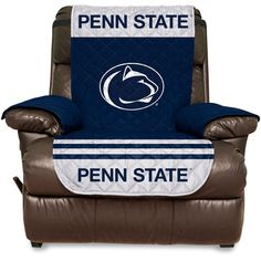 """Penn State Nittany Lions 65"""" x 80"""" Water Absorbent Furniture Recliner Protector"""
