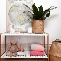 Mocka Jimmy Stand Styled perfectly by Dot and Pop. 21st Century Homes, Home Organisation, Baby Decor, Decking, Home Decor Items, Night Light, Baby Room, Woodland, Georgia
