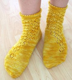 Ravelry: Onerva pattern by Suvi Heikkilä Crochet Socks, Knitting Socks, Free Knitting, Love Crochet, Knit Crochet, Little Cotton Rabbits, Cute Socks, Wool Socks, Yarn Shop