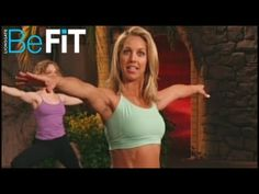 ▶ Standing Power Pilates Workout: Denise Austin - YouTube