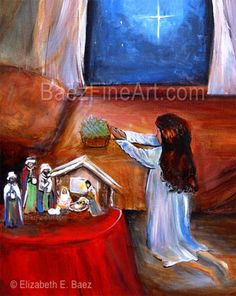 Día de los Tres Reyes Magos The Three Kings - Puerto Rican Artist Elizabeth Erazo Baez