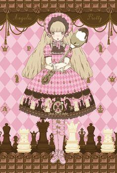 2011 Chess Chocolate by Imai Kira for Angelic Pretty