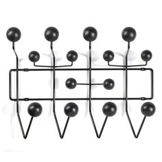 Porte-manteau HANG IT ALL noir - VITRA