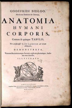 "Govard Bidloo (https://pinterest.com/pin/287386019943689954/), ""Anatomia Humani Corporis"", Mezzotinto: Gérard de Lairesse. 1685."