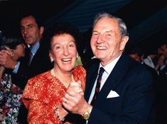David Rockefeller 1915 - 2017 and his wife Pegge McGrath, 1915 - 1996. Their monumental artcollection will be auctioned at Christies in may 2018